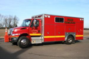 Fire rescue truck #55