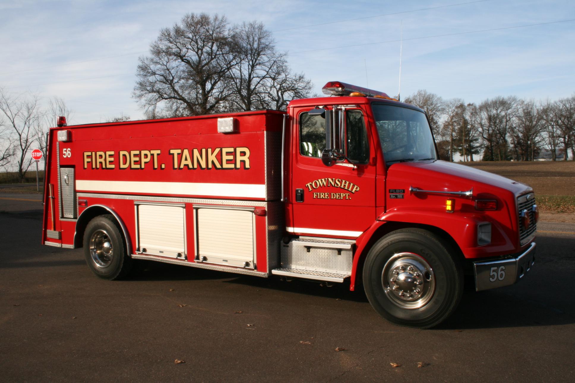 Tanker truck #56