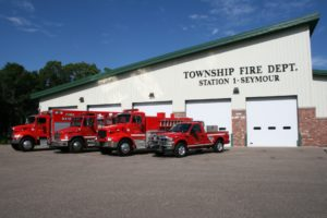Seymore Township Station 1 truck lineup