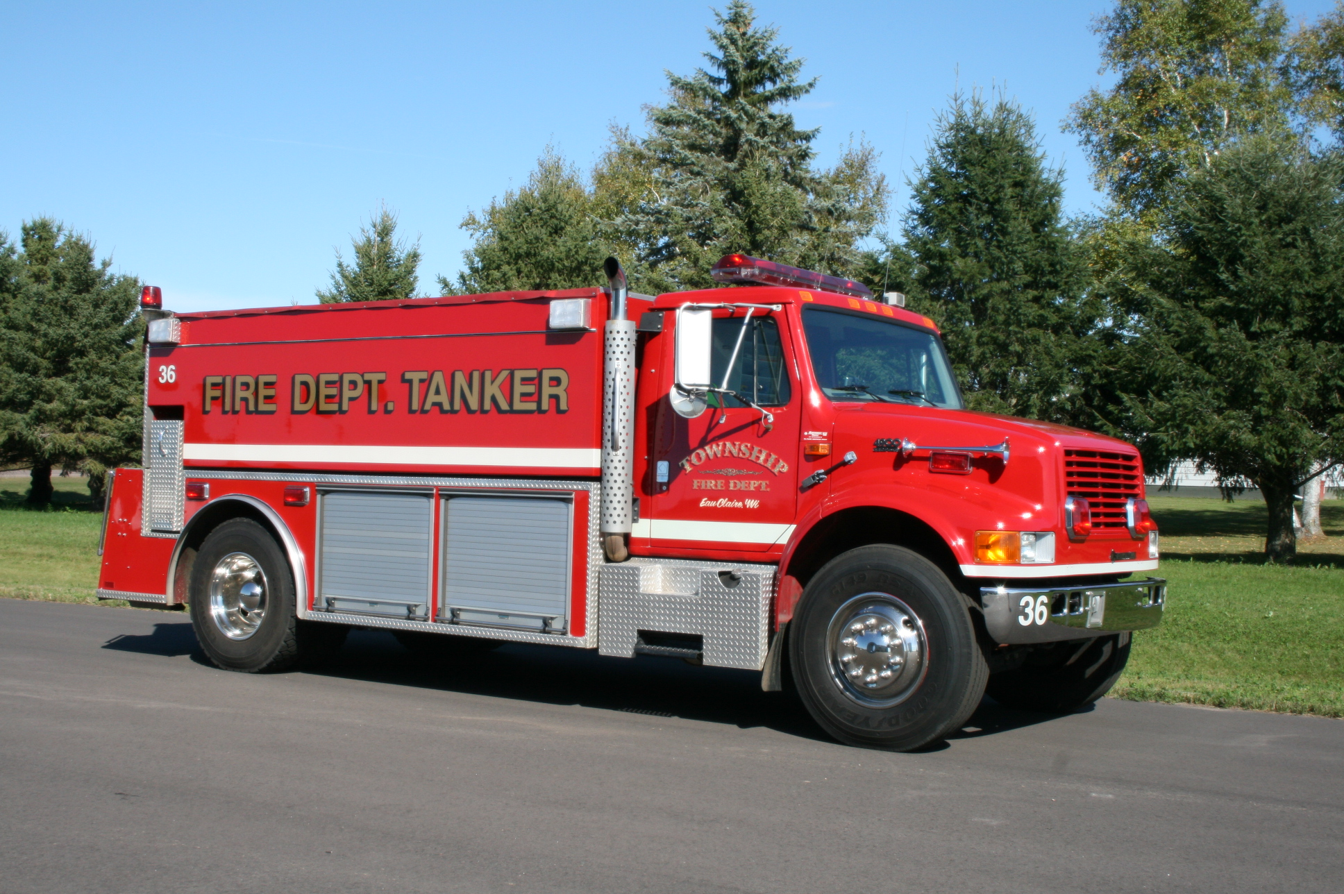 Tanker truck #36