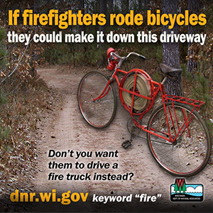 If FF rode bicyles - driveway access-1
